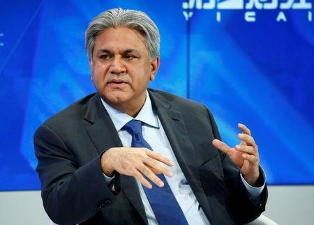 FILE PHOTO: Naqvi Founder and Group Chief Executive of Abraaj Group attends the annual meeting of the WEF in Davos
