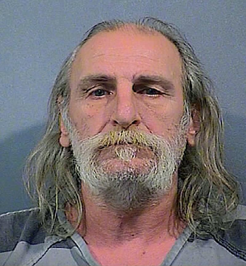 """Von. I. Meyer, 60, of Cedar Lake, Ind., is seen in an undated photo provided by the Lake County Sheriff's Department. Meyer, who allegedly threatened Friday to """"kill as many people as he could"""" at Jane Ball Elementary School in Cedar Lake was arrested Saturday, Dec. 15, 2012 by officers who later found 47 guns and ammunition hidden throughout his home.  Meyer's home is less than 1,000 feet from the school and linked to it by trails and paths through a wooded area, police said. (AP Photo/Lake County Sheriff's Department)"""