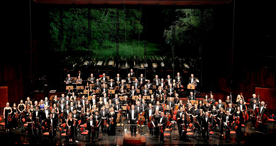 World Doctors Orchestra performing in Lisbon
