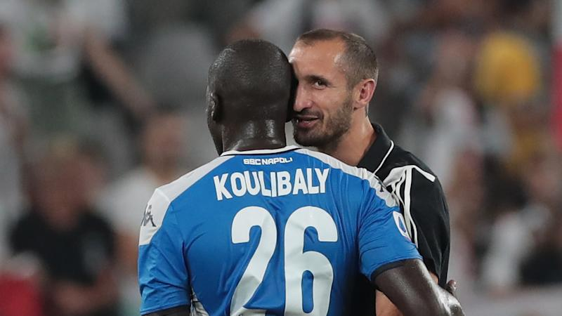'Seeing him with that face melted me' - Chiellini explains why he hugged Koulibaly after late own goal