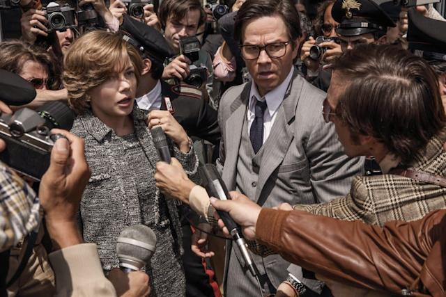"""Theassault allegations against Kevin Spacey seemed like a death knell for """"All the Money in the World,"""" in which Spacey had a supporting role. Sony <span>withdrew</span> the movie's closing-night premiere at the AFI Fest, where the year's final Oscar contenders are sometimes christened. But this week Ridley Scott made a move so bold it could vault his film back into the game: Over the next few weeks, he will <span>reshoot Spacey's scenes</span>, replacing the actor with Christopher Plummer, in hopes of maintaining the targeted Dec. 22 theatrical release. That unprecedentedstrategy could work in favor of Michelle Williams, who plays the mother of kidnapped aristocrat John Paul Getty III."""