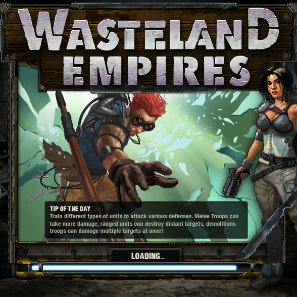 CrowdStar's Wasteland Empires