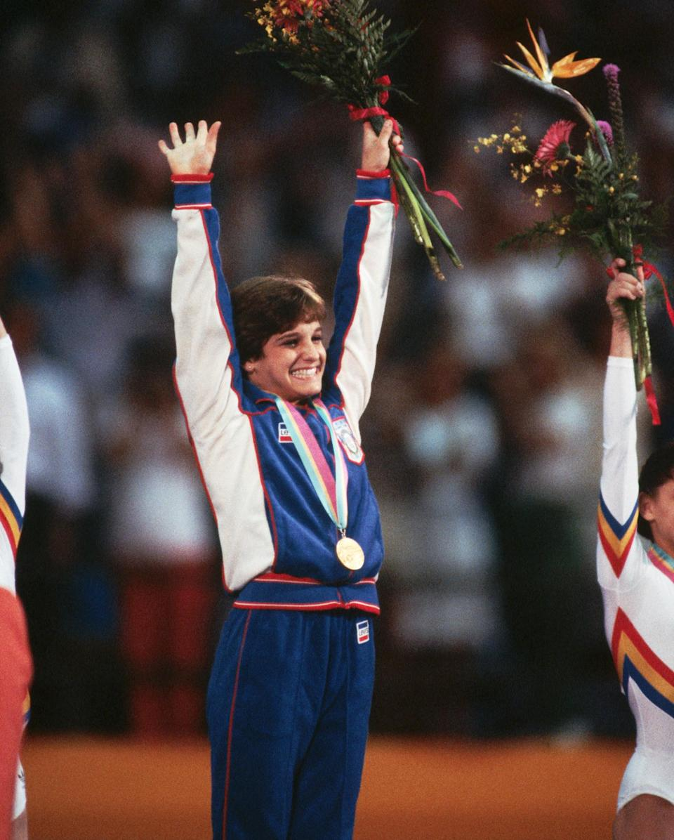 <p><strong>Year she won:</strong> 1984</p> <p><strong>Age at the time:</strong> 16</p> <p><strong>Other medals:</strong> Two silver and two bronze from the team competition and three individual events in 1984</p>