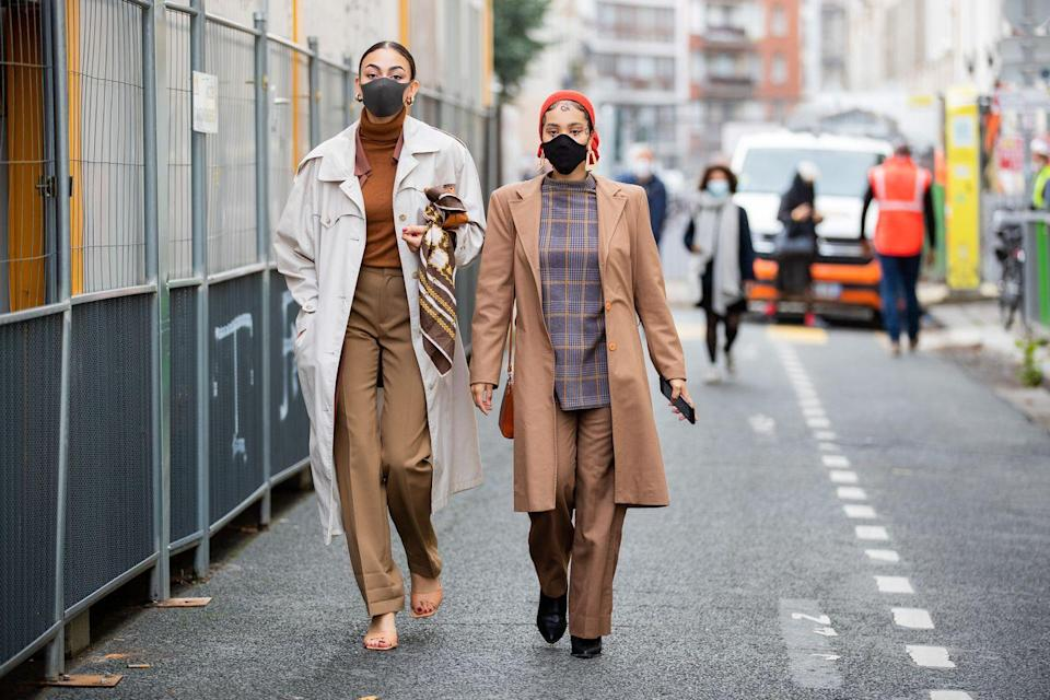 """<p>Sure, we've slowly been storing away our <a href=""""https://www.cosmopolitan.com/uk/fashion/style/g4693/best-winter-coats-uk/"""" rel=""""nofollow noopener"""" target=""""_blank"""" data-ylk=""""slk:heavy-duty coats"""" class=""""link rapid-noclick-resp"""">heavy-duty coats</a>, anticipating their use becoming obsolete very soon (please), but this is where the trench rules. The high street have lots of new options flowing in, but equally, Ebay and Depop are great for vintage designer finds, like the iconic Burberry styles. Opt for khaki or classic beige to complement your spring pastels.</p>"""