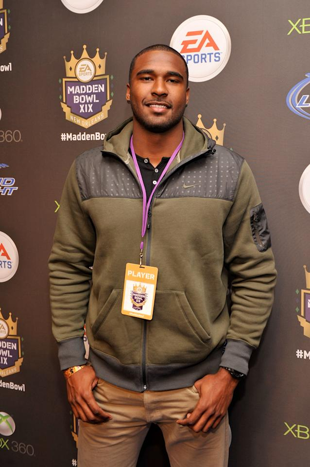 NEW ORLEANS, LA - JANUARY 31:  NFL Draft prospect EJ Manuel of the Florida State Seminoles arrives at EA SPORTS Madden Bowl XIX at the Bud Light Hotel on January 31, 2013 in New Orleans, Louisiana.  (Photo by Stephen Lovekin/Getty Images for Bud Light)