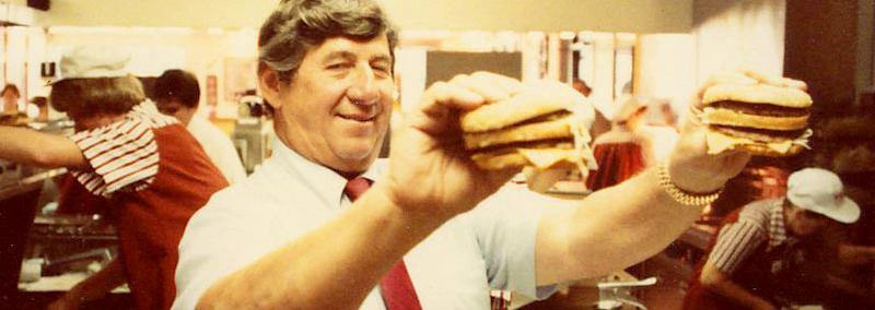 The McDonald's franchisee who created the Big Mac, Michael 'Jim' Delligatti died at age 98 on Monday, November 28, a spokeswoman for the fast food chain confirmed — get the details