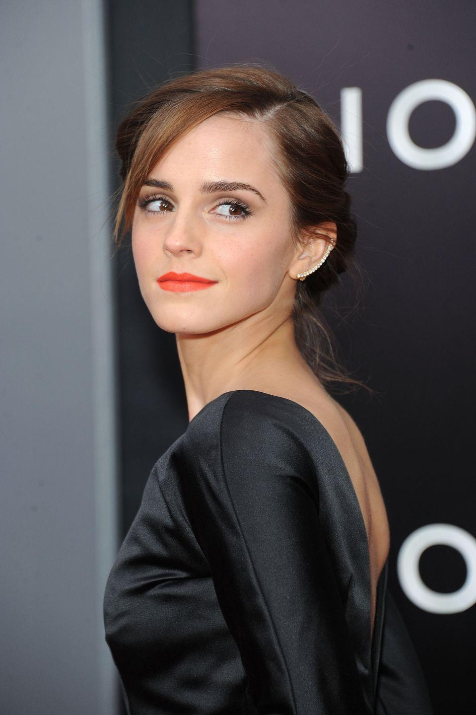 """<p>Even though Emma Watson found fame at a young age, the <em>Harry Potter </em>star didn't let that stop her from earning a degree–or showing off her athletic skills. While studying at Brown University, Watson <a href=""""https://www.theodysseyonline.com/24-reasons-emma-watson-awesome"""" rel=""""nofollow noopener"""" target=""""_blank"""" data-ylk=""""slk:joined the club field hockey team"""" class=""""link rapid-noclick-resp"""">joined the club field hockey team</a>. </p>"""