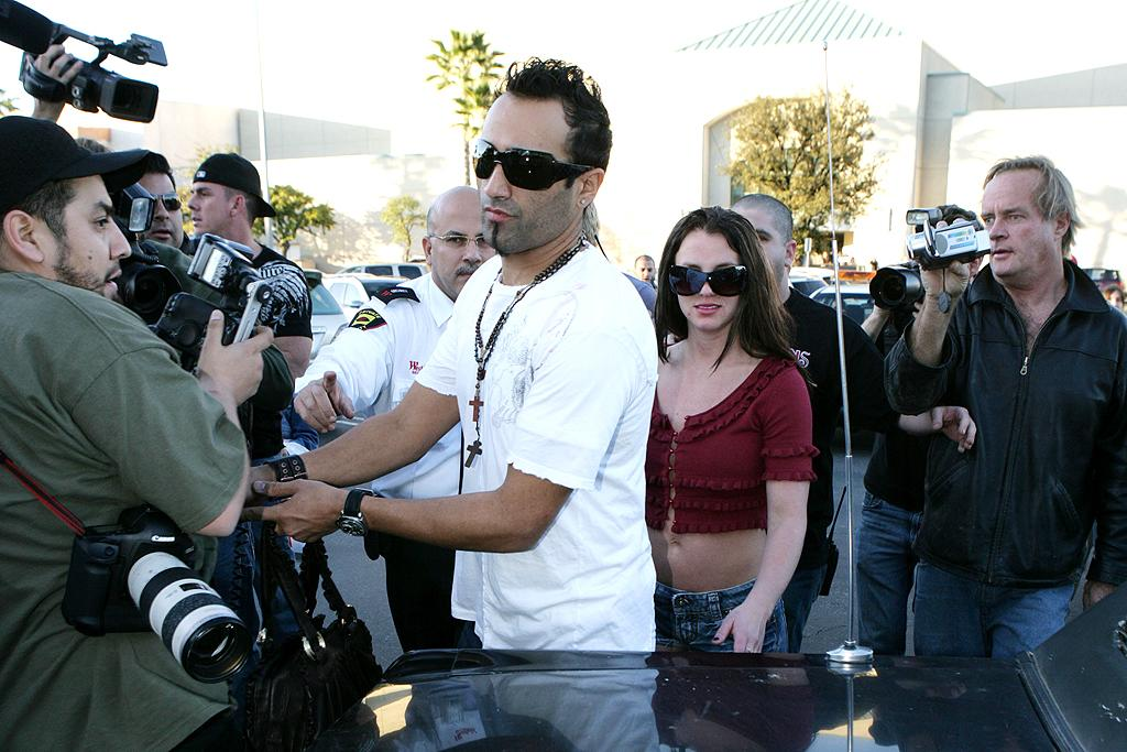 "<p class=""MsoNoSpacing"">After losing custody of her two sons to Federline, Britney took up with an unlikely beau: paparazzo Adnan Ghalib, who had been following the unhinged singer and snapping photos of her exploits for the tabloids. The two were photographed almost daily on shopping sprees and Starbucks runs all over Los Angeles for months until the conservatorship in January 2008 – and papa Spears promptly put an end to the relationship. It's unclear if Ghalib, who later tried to sell what he claimed was a sex tape he and Britney made, ever returned to his old job. In March 2012, this omg! editor spotted him at a Target store in West Hollywood with his girlfriend buying baby supplies. Congrats?!</p>"