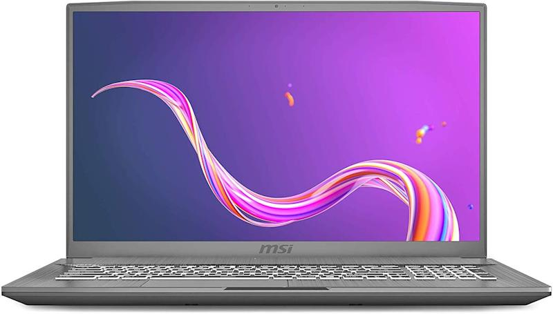 MSI laptops are portable and powerful. (Photo: Amazon)