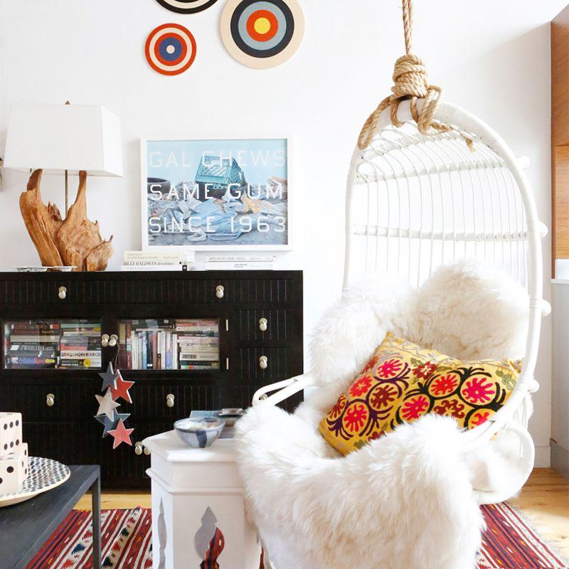 These 11 Hanging Chairs Will Make Your Home Look Cooler