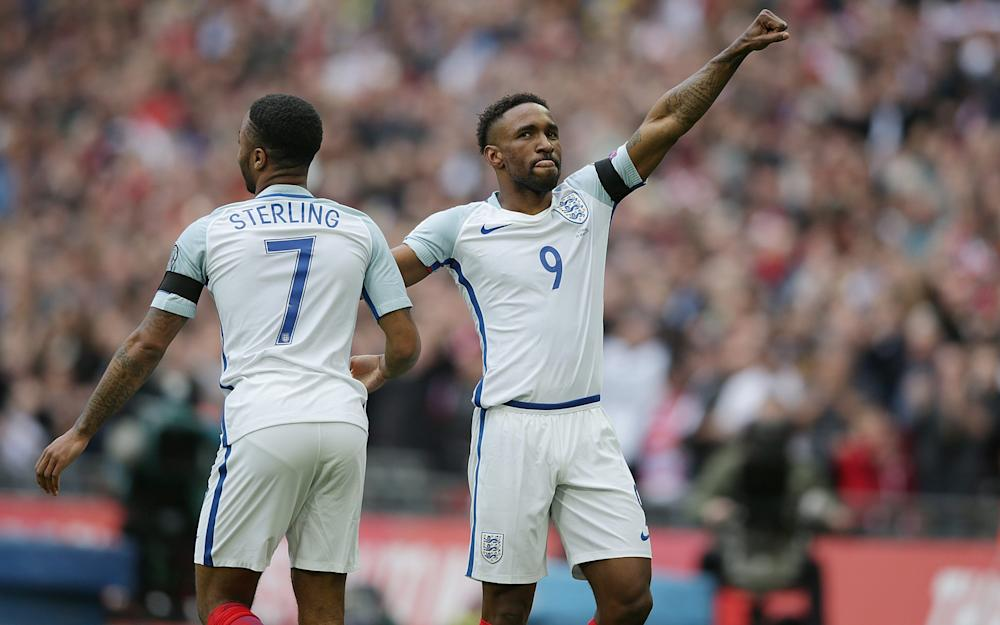 Defoe scores on England return