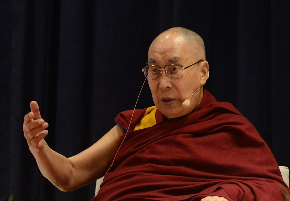 The Dalai Lama has sparked controversy over his latest 'misogynistic' comments [Photo: Getty]