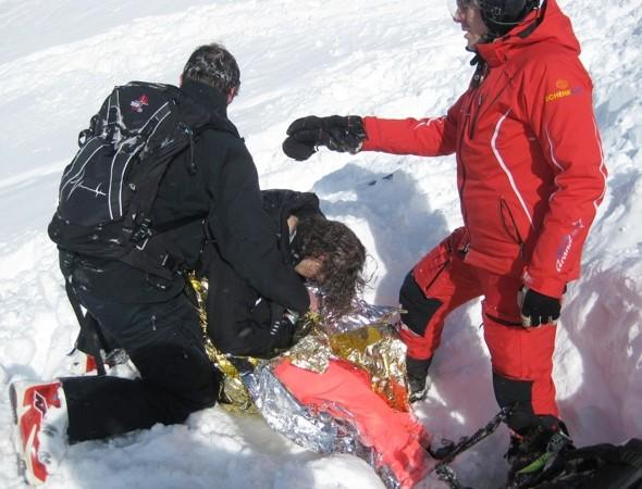 Skier buried under avalanche for 15 minutes 'comes back from dead'