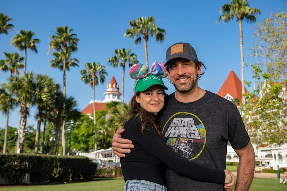 Shailene Woodley and Aaron Rodgers enjoyed a stay at Disney's Grand Floridian Resort during a vacation to Florida's Walt Disney World Resort.