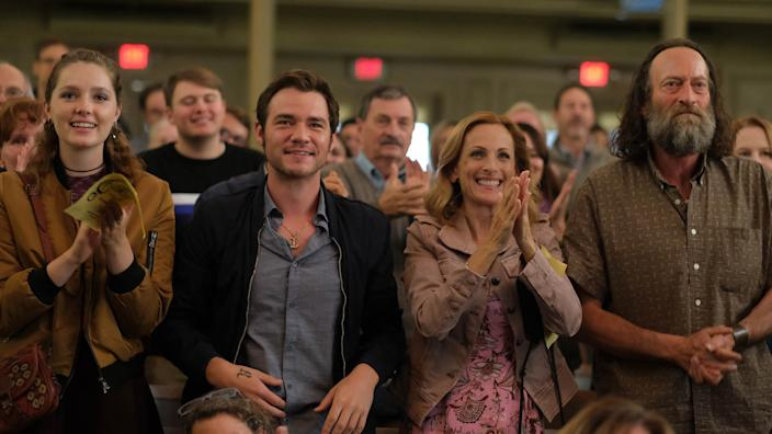 Marlee Matlin makes a rare on-camera appearance in 'Coda,' which premieres at this year's Sundance Film Festival (Photo courtesy Sundance Institute)