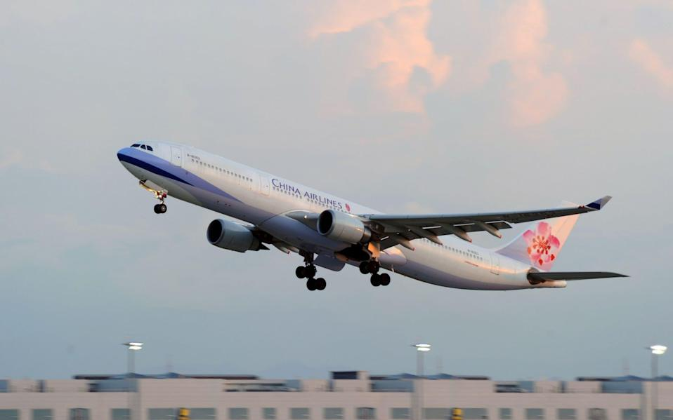 A bomb threat was made against a China Airlines cargo flight - AFP