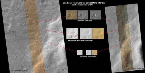 New Mars Photos May Reveal 1970s Soviet Lander
