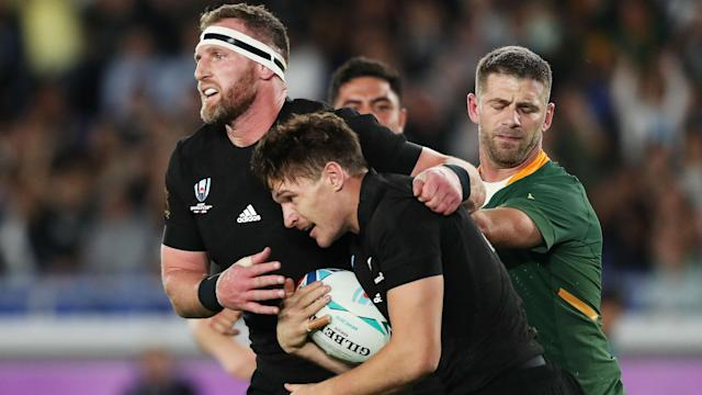 Six minutes of first-half brilliance against South Africa underlined why New Zealand are Rugby World Cup favourites once again.