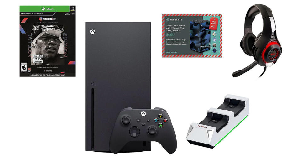 Xbox Series X 1TB Bundle w/ Madden NFL 21 and Accessories (Photo: QVC)