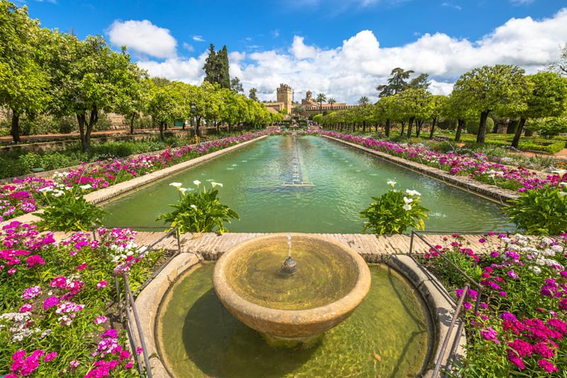 The gardens at the Alcázar (bennymarty via Getty Images)