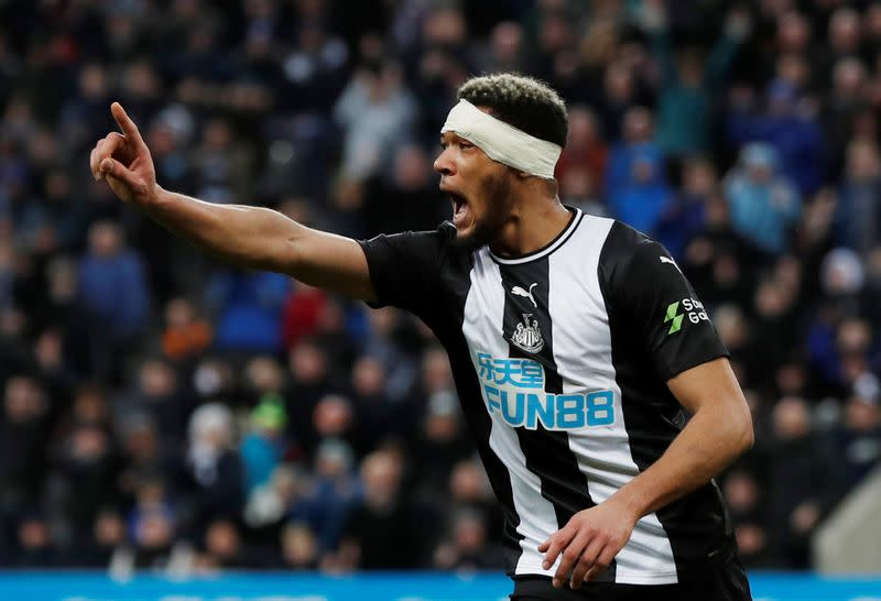Soccer: Bruce retains faith in Joelinton to come good at Newcastle