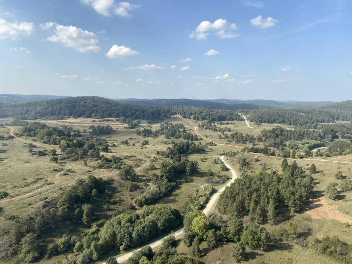 Image: The 40,000 acre Hohenfels training area in southern Germany has been controlled by the U.S. Army for decades, and hosts military exercises involving dozens of American allies each year (Edward Kiernan / NBC news)