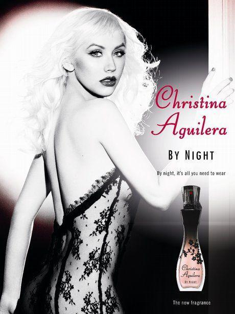 <p>Extra points to XTina for literally dressing to match her bottle. </p>