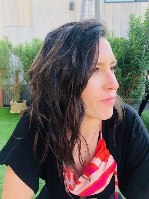 """<p>""""My hair has seen a blow-drier no more than three times total (let alone a curling iron) since we've all been sheltering in place - and it's so much better off for it. I just haven't found much use in doing a full blowout or curl for a 30-minute Zoom call here and there, and instead, I've been letting my naturally wavy texture do it's thing. </p> <p>As a result, this lack of heat styling the last three months has also made my hair look 10x healthier, so much so that I haven't even been itching for a haircut . . . yet."""" - Kelsey Castañon, senior beauty editor</p>"""
