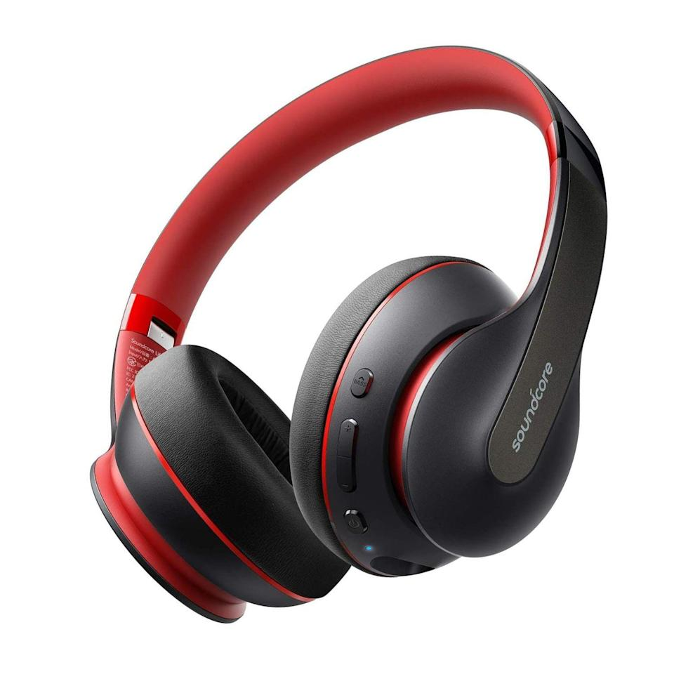 "<p><strong>Soundcore</strong></p><p>amazon.com</p><p><strong>$29.99</strong></p><p><a href=""https://www.amazon.com/dp/B07SHG4H92?tag=syn-yahoo-20&ascsubtag=%5Bartid%7C2089.g.32926760%5Bsrc%7Cyahoo-us"" rel=""nofollow noopener"" target=""_blank"" data-ylk=""slk:Shop Now"" class=""link rapid-noclick-resp"">Shop Now</a></p><p>Anker's Soundcore Life Q10 over-ear headphones are hands-down the best under $50, and a great gift for anyone in need of new wireless cans. Their design and sound are much better than what you'll expect from a product in this price point. They are even compatible with Hi-Res Audio content. </p><p>With up to 60 hours of wireless playback between charges, the Life Q10 headphones can last longer than most rivals. Their futureproof USB-C port will get users 5 hours' worth of tunes after only 5 minutes. The cans are available in black or blue.</p>"