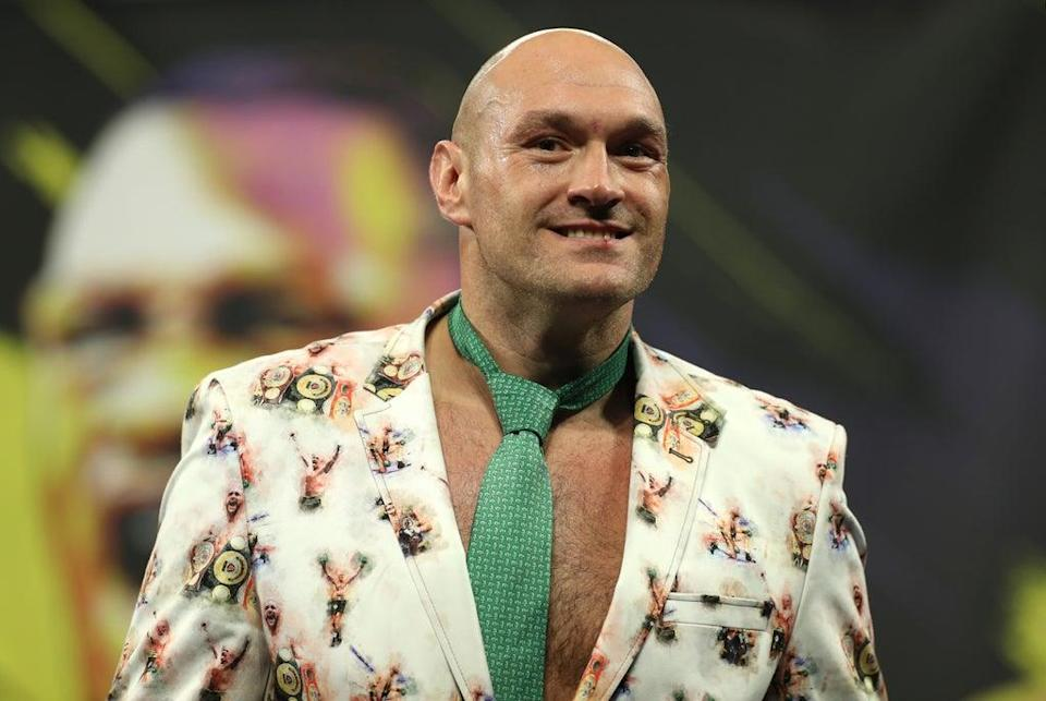 Joshua's hopes of a fight against Tyson Fury, pictured, are in ruins (Bradley Collyer/PA) (PA Archive)