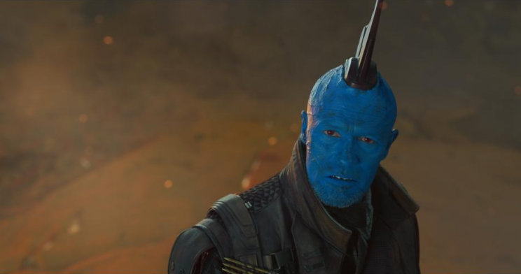 Michael Rooker's Yondu meets a poignant end in <i>Vol. 2.</i>