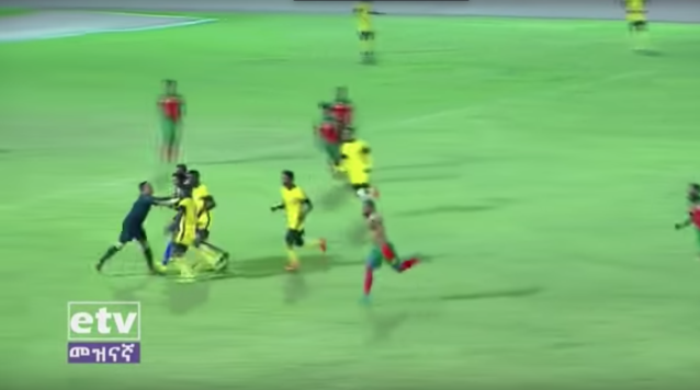 Games in Ethiopa have been suspended after a referee was attacked
