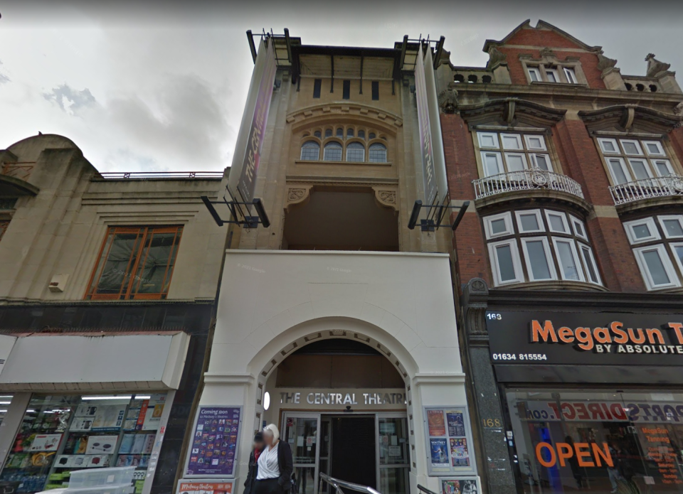 The Central Theatre in Chatham, Kent (Google Maps)