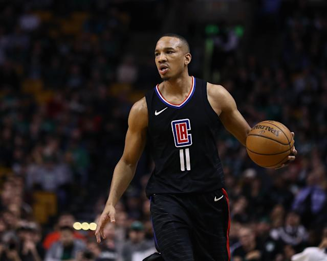 "<a class=""link rapid-noclick-resp"" href=""/nba/players/4750/"" data-ylk=""slk:Avery Bradley"">Avery Bradley</a> averaged 9.2 points, 3.7 rebounds and 1.8 assists in six games for the <a class=""link rapid-noclick-resp"" href=""/nba/teams/lac"" data-ylk=""slk:Clippers"">Clippers</a> last season. (Getty)"