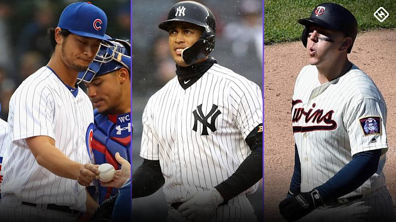 Yu Darvish, Giancarlo Stanton top list of slow starts for new faces in new places