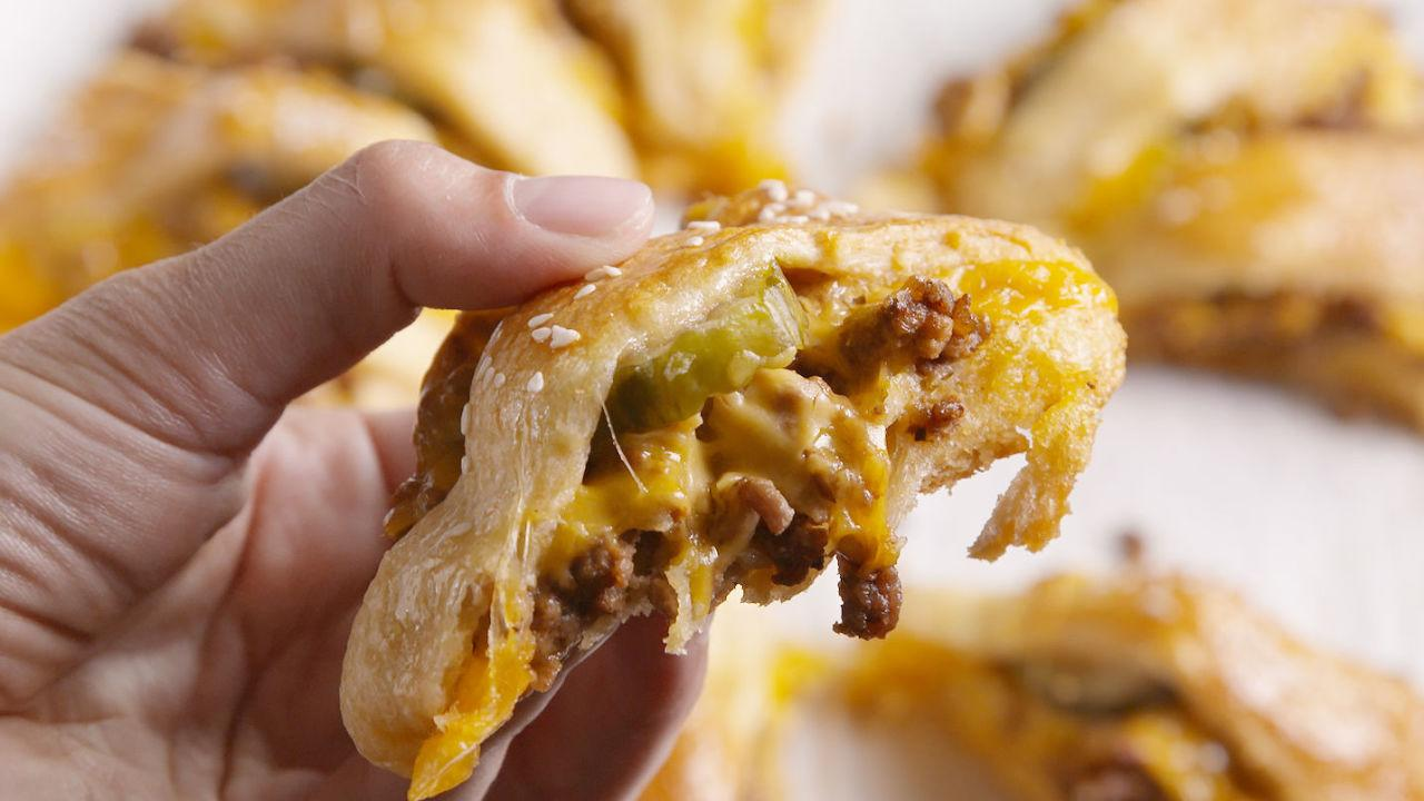 """<p>If you have one ingredient on hand at all times, it should totally be crescent rolls.</p><p>Looking for more versatile ingredients? Try our <a rel=""""nofollow"""" href=""""http://www.delish.com/cooking/recipe-ideas/g2886/things-to-do-with-puff-pastry/"""">next-level ways to use puff pastry</a>.</p>"""