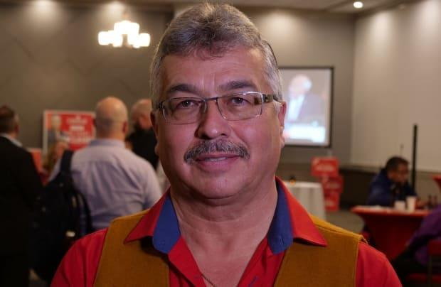 Member of parliament for the NWT Michael McLeod said there is a lot of funding available for housing this year and the territory is going to be 'very busy on constructing housing and renovating housing … before this construction season's over.' (Hilary Bird/CBC - image credit)