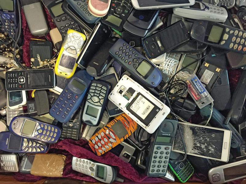 Scientists found many old mobile devices contain elements such as gold, arsenic and rare elements such as indium (file photo): Getty Images/iStockphoto