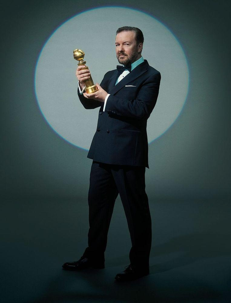 Ricky Gervais | Todd Antony/NBC/NBCU Photo Bank via Getty