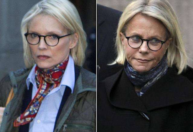 <p>The actress is nearly two decades younger than Ruth, so even taking into account that the movie is set around 2008, Pfeiffer is very young for the role. But she does look the part, with platinum blonde hair, glasses, and those delicate features. <br><br>(Photo: HBO/AP) </p>