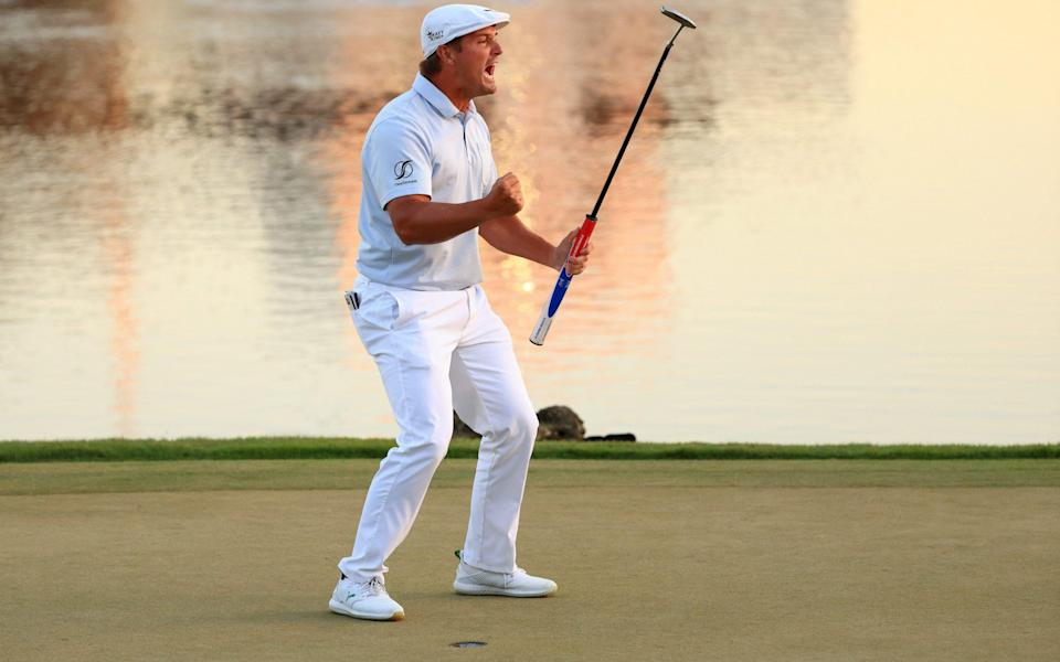 DeChambeau was his usual entertaining self in the final round - GETTY IMAGES