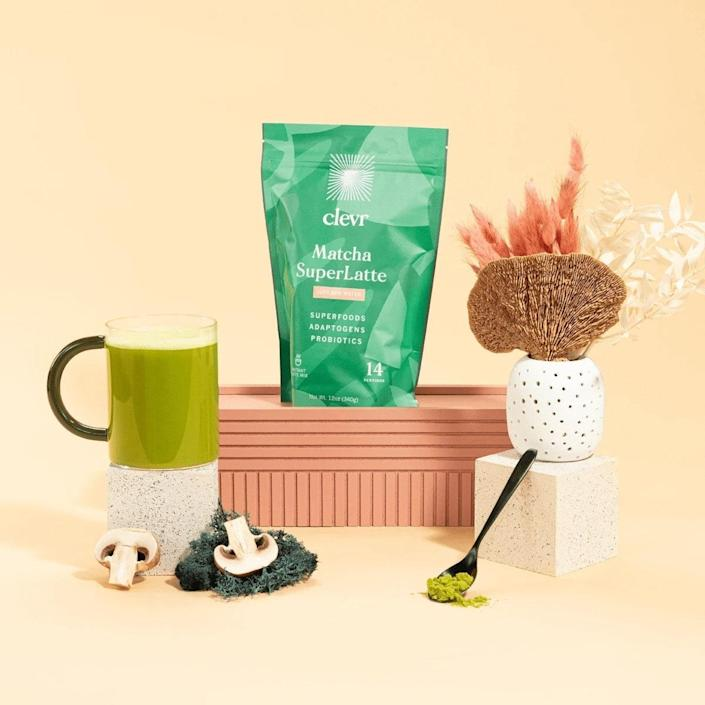 """Since finding matcha at your local grocery store can be pricey and challenging, opt for Clevr Blends' <a href=""""https://cna.st/affiliate-link/74gALtHrcomgzxdwjGr4npH5t2t2ZJf4HdZAexJSm3bYPpKbH68C3kPaP4QLBwdcBhZLzhmmq1qmAyWXMXunz9qK1miqtqv12kkDjBihSTfgg98qFiELYQJZhZgXCionbxu3gx?cid=60b687e29989fe4358e2fe2e"""" rel=""""nofollow noopener"""" target=""""_blank"""" data-ylk=""""slk:Matcha Latte subscription service"""" class=""""link rapid-noclick-resp"""">Matcha Latte subscription service</a>. Customers save 15% on every order, conveniently delivered to your doorstep every month. This blend is made with organic matcha that's combined with oat milk and coconut cream and is naturally sweetened by monk fruit. It's a fresher way to start your day and won't leave you with unwanted jitters or a crash. Plus, the company is led by women and is <a href=""""https://www.architecturaldigest.com/topic/meghan-markle?mbid=synd_yahoo_rss"""" rel=""""nofollow noopener"""" target=""""_blank"""" data-ylk=""""slk:Meghan Markle–approved"""" class=""""link rapid-noclick-resp"""">Meghan Markle–approved</a>. $28, Clevr Blends. <a href=""""https://clevrblends.com/collections/lattes/products/matcha-superlatte"""" rel=""""nofollow noopener"""" target=""""_blank"""" data-ylk=""""slk:Get it now!"""" class=""""link rapid-noclick-resp"""">Get it now!</a>"""