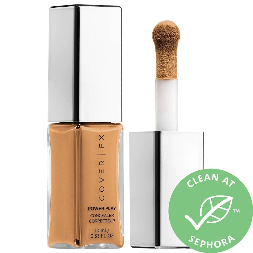 "<h3>Cover FX Power Play Concealer<br></h3><br>I can personally confirm that no matter what it is you're looking to mask — dark circles, acne scars, bad decisions — this indestructible concealer is up for the challenge.<br><br><strong>Cover FX</strong> Power Play Concealer, $, available at <a href=""https://go.skimresources.com/?id=30283X879131&url=https%3A%2F%2Fwww.sephora.com%2Fproduct%2Fpower-play-concealer-P433833%23locklink"" rel=""nofollow noopener"" target=""_blank"" data-ylk=""slk:Sephora"" class=""link rapid-noclick-resp"">Sephora</a>"