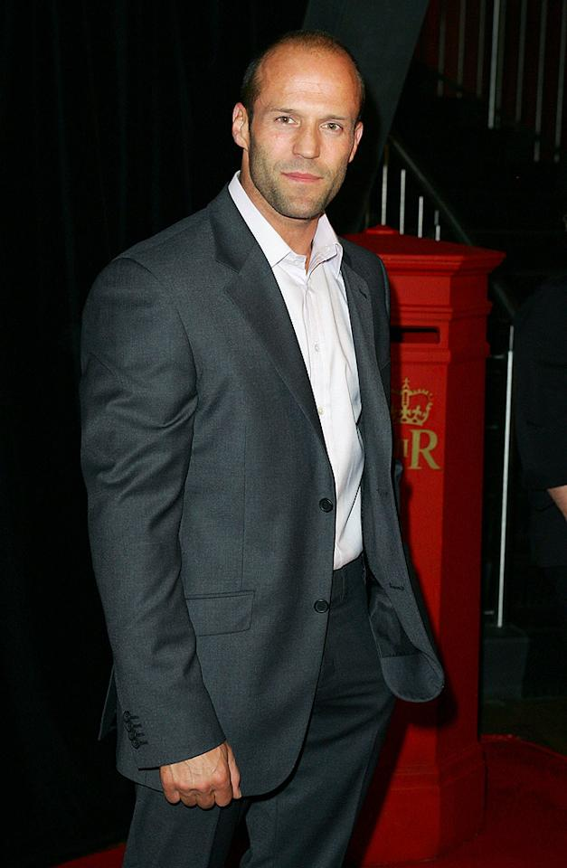 "19. Jason Statham Sergio Dionisio/<a href=""http://www.gettyimages.com/"" target=""new"">GettyImages.com</a> - July 9, 2008"
