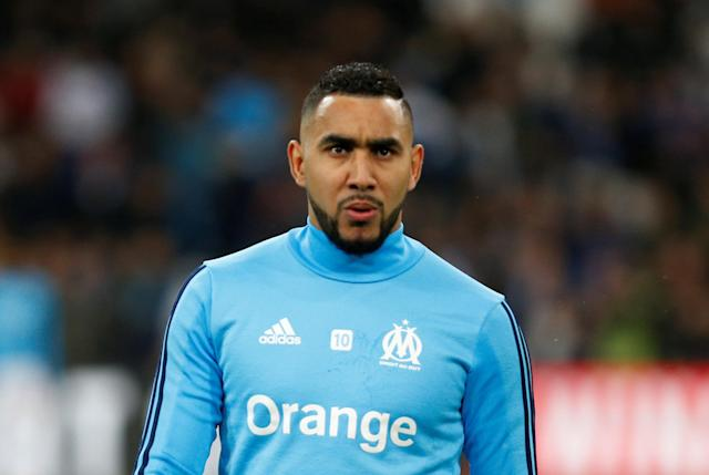Soccer Football - Ligue 1 - Olympique de Marseille vs Olympique Lyonnais - Orange Velodrome, Marseille, France - March 18, 2018 Marseille's Dimitri Payet before the match REUTERS/Philippe Laurenson