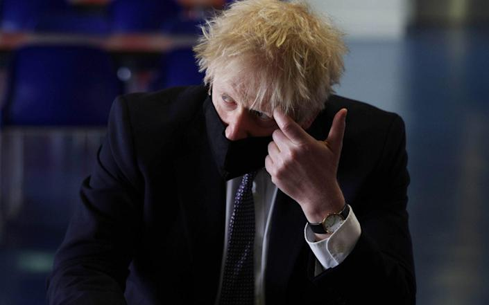 Earlier this month, Simon Case, the Cabinet Secretary, advised Boris Johnson to change his long-held phone number - Dan Kitwood/Getty Images Europe