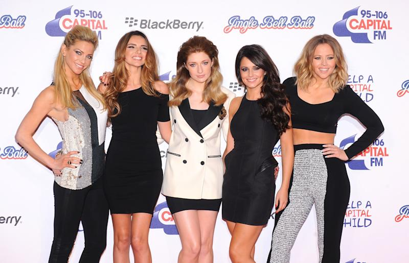 Girls Aloud prior to their split (Photo: PA Archive/PA Images)