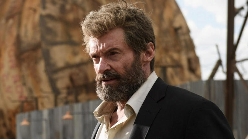 Hugh Jackman as Wolverine in 'Logan'. (Credit: Fox)