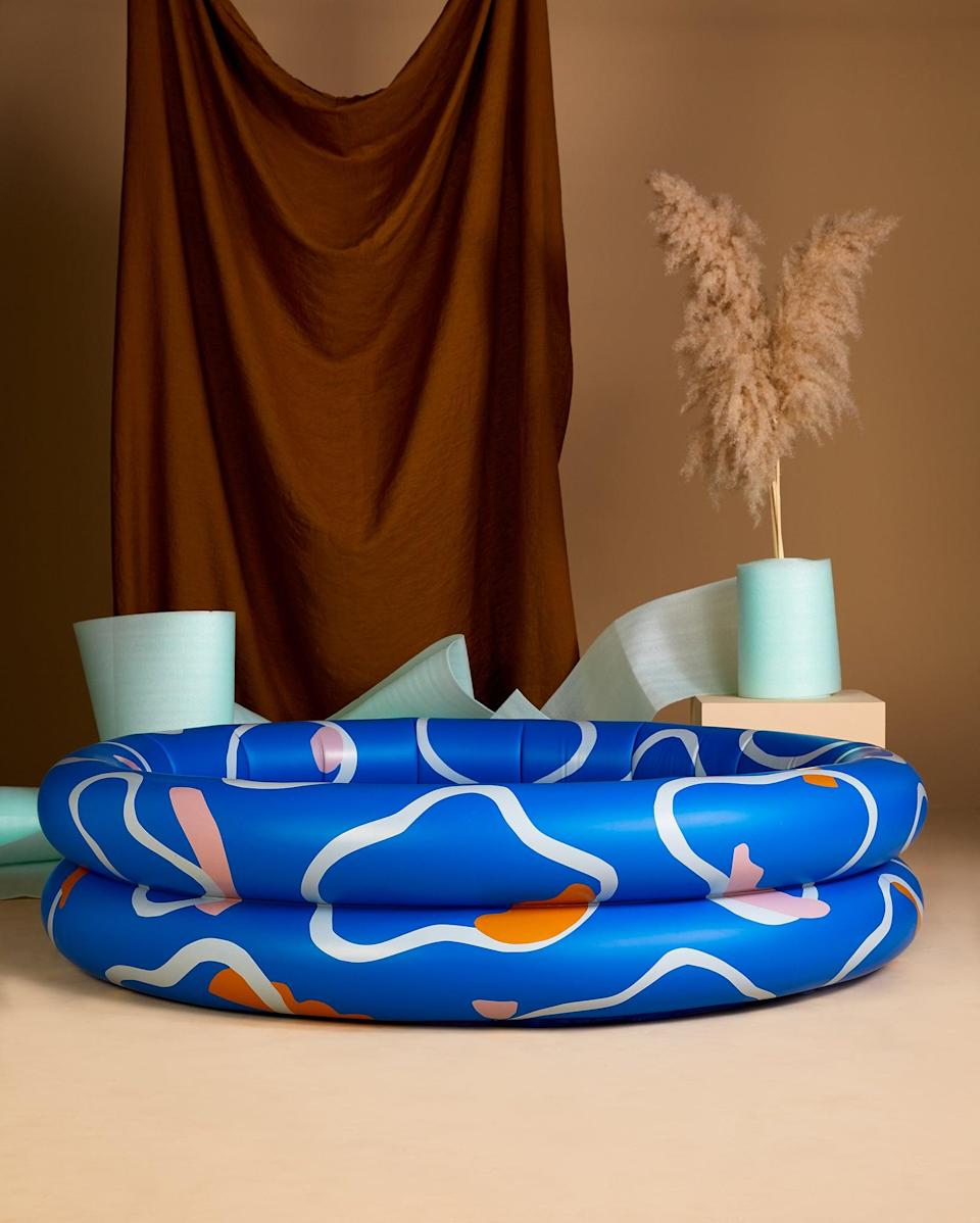 Inflatables are key: Anna Beam designed this rippling blue paddling pool in collaboration with Slowdown StudioJohnny Barrington