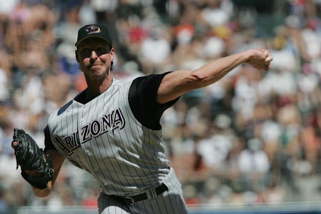 Signing Randy Johnson immediately turned the Arizona Diamondbacks into World Series contenders. (Photo by Stephen Dunn/Getty Images)